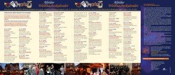 Alfelder Weihnachtskalender - Forum Alfeld Aktiv eV