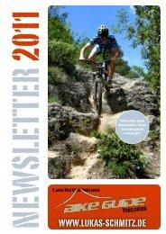 bike guide vogelsberg wünscht eine gute saison 2011!