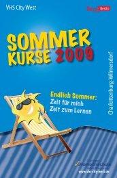 VHS City West Charlottenburg-W ilmersdorf - Volkshochschule City ...