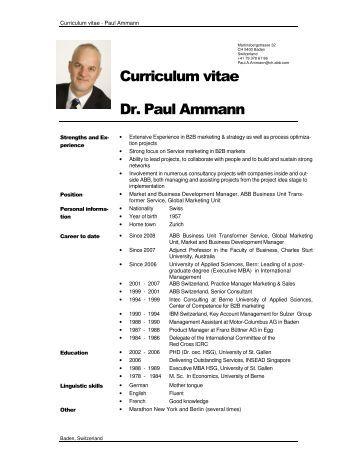 Dr Paul Wu Horng Jyh Curriculum Vitae - SIM University