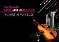 salzburger landesjugendorchester - Akzente Salzburg