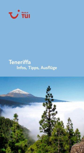 TUI - Infos, Tipps, Ausflüge: Teneriffa - tui.com - Onlinekatalog