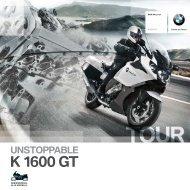 Katalog K 1600 GT - BMW Motorrad Deutschland