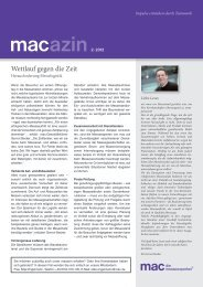 Wettlauf gegen die Zeit - mac
