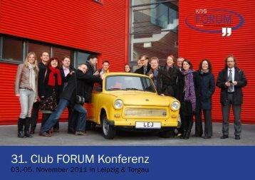 31. Club FORUM Konferenz - Deutsch-Russisches Forum eV