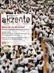 GTZ akzente 1/2010