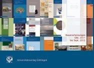 Neuerscheinungen Okt. 2011 bis Sept. 2012 Universitätsverlag ...