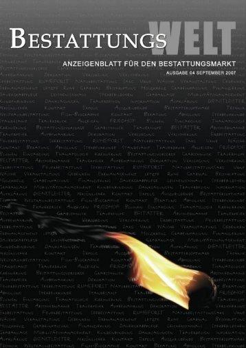 Ausgabe 2007-09 - Agentur Erasmus A. Baumeister