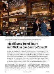 «Jubiläums-Trend-Tour» mit Blick in die Gastro-Zukunft - Kompetenz ...