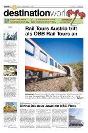 Rail Tours Austria tritt als ÖBB Rail Tours an - MediaNET.at