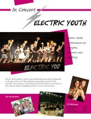 Electric Youth - New England Center for the Performing Arts