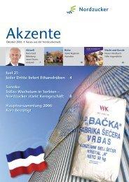 Akzente Sep_06.indd - Nordzucker AG