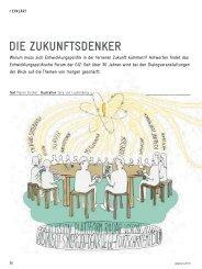 Entwicklungspolitisches Forum der GIZ – Magazin akzente 4/2012