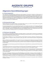 AKZENTE GRUPPE - Austropersonal