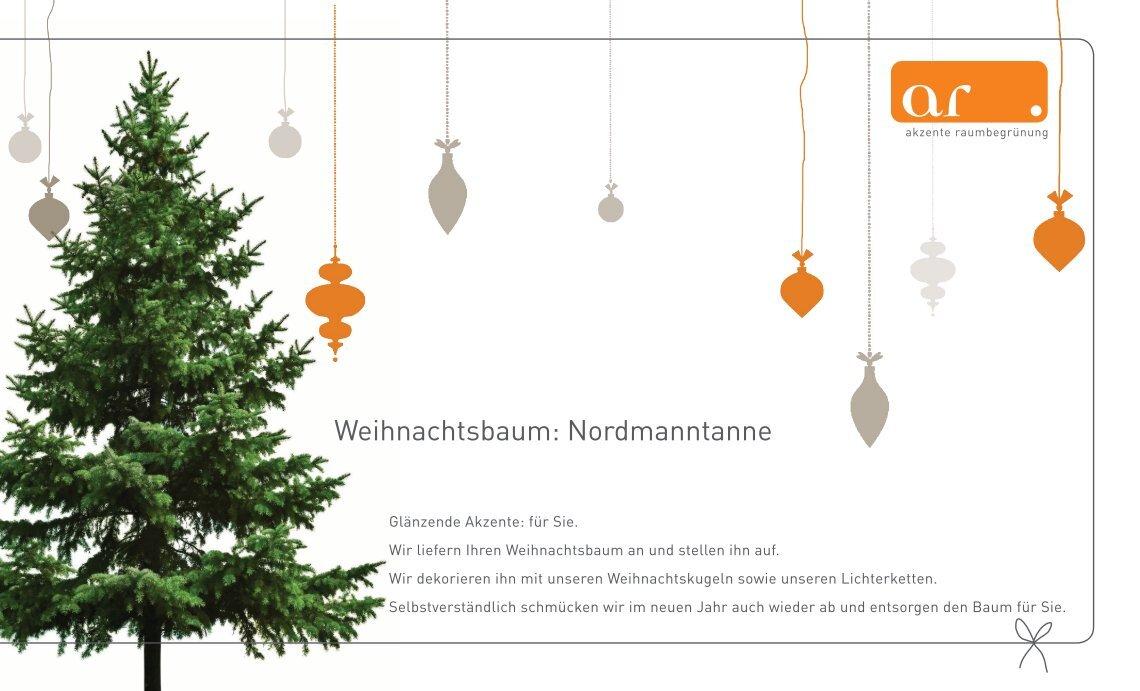 Weihnachtsbaum Nordmanntanne.2 Free Magazines From Akzente Raumbegruenung De