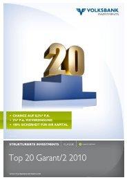 Top 20 Garant/2 2010