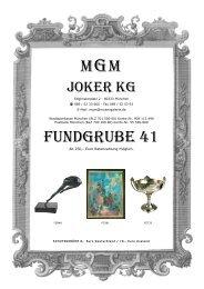 Joker KG - MGM Muenzgalerie