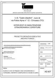 H:\pubblica\EDILIZIA\EDILIZIA_SCOLASTICA ... - Provincia di Torino