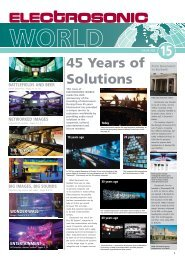 45 Years of Solutions - Electrosonic