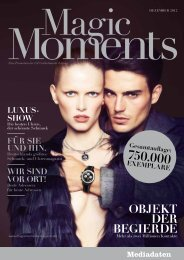 750.000 ExEmplarE luxus - Magic Moments