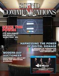 January 2009 - Sound & Communications