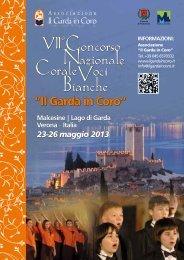 Malcesine   Lago di Garda Verona # Italia 23-26 maggio 2013