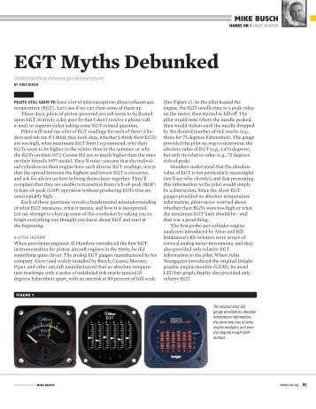 EGT Myths Debunked