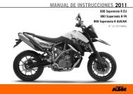 MANUAL DE INSTRUCCIONES 2011 - KTM