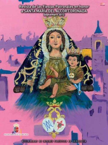 Pregonero de las Fiestas Patronales de 2012 - Ayuntamiento de El ...