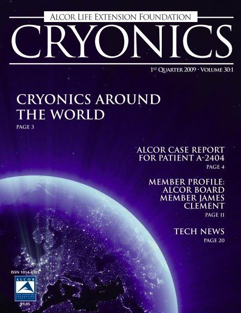 Cryonics Around The World Alcor Life Extension Foundation