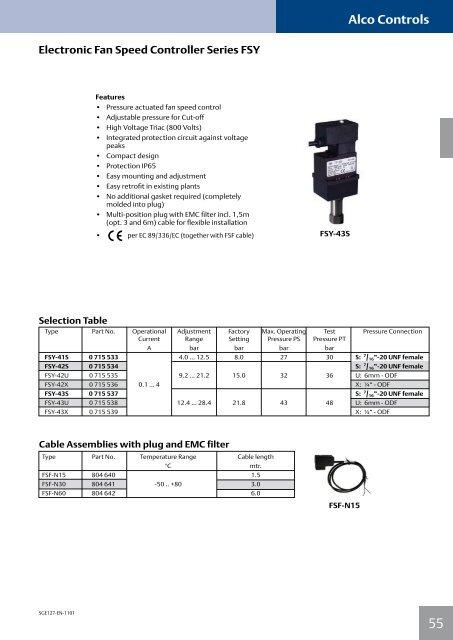 Alco Controls - Emerson Climate Technologies
