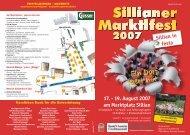 Am Marktplatz / piazza mercato - Marktgemeinde Sillian