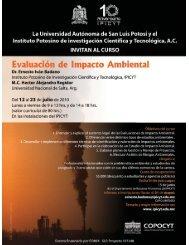 Información general (PDF) - Instituto Potosino de Investigación ...
