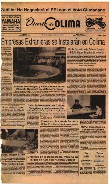 Empresas Extranjeras se Instalar~n en Colim a - Universidad de ...