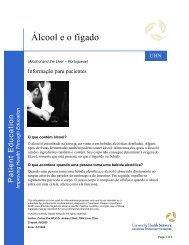 Álcool e o fígado - University Health Network