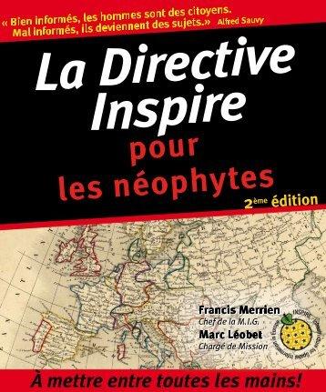 La directive Inspire pour les néophytes (2e édition) - GeoRezo