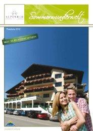 Sommerwunderwelt - Hotel Alpenruh