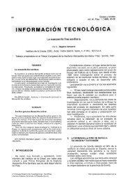 información tecnológica - digital-csic Digital CSIC - Consejo ...
