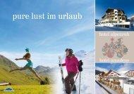 Imageprospekt downloaden [PDF] - Hotel Alpenruh