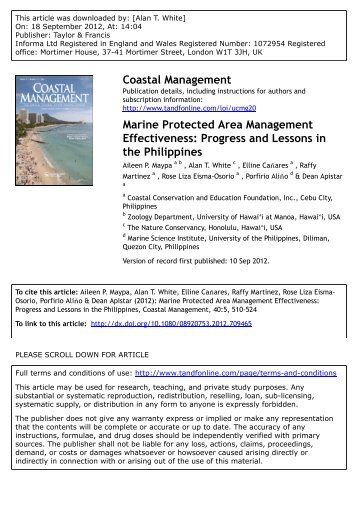 discuss how a protected area managed Discussion paper november 2014 biodiversity keywords: protected area, social assessment, governance towards equitably managed protected areas a review of synergies between.