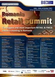 Romania Retail Summit - Blue Business Media