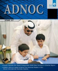 ADNOC News September 2011