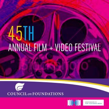 Untitled - Council on Foundations - Film & Video Festival