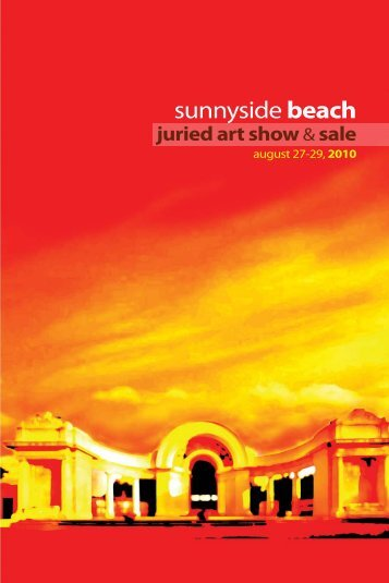 Sunnyside Beach juried art show & sale