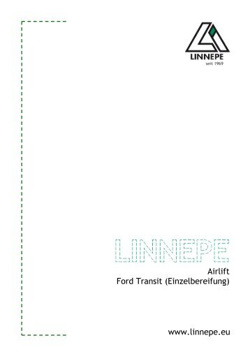 www.linnepe.eu Airlift Ford Transit ... - A. Linnepe GmbH