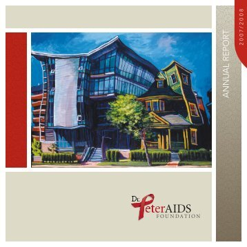 annual report - Dr. Peter Centre