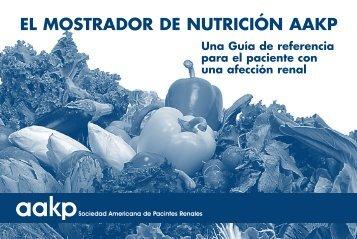 EL MOSTRADOR DE NUTRICIÓN AAKP
