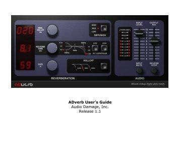 ADverb Manual - Audio Damage