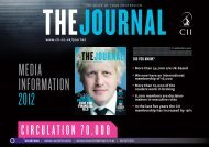 Download the media pack for more information - The Chartered ...