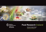 Food Research Ireland - Department of Agriculture